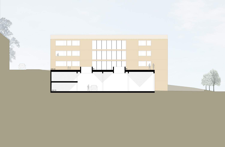 Rickenbach_Gemeindehaus_Nordfassade